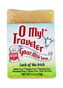 O My! Luck of the Irish Goat Milk Traveller Soaps