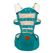 Hip Seat Baby Carrier - Advanced Lumbar Support 6-in-1 ( 6 Position ) , green