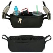 Baby Stroller Cup Bag Organiser Baby Carriage Pram Buggy Cart Bottle Bags Stroller Accessories Baby Car Bag
