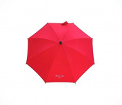 Baby's Clan Parasol for Pushchairs Red Nylon Adjustable/Detachable