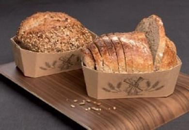 Mini Bread Cake Loaf Paper Pan -15cm x 8.8cm - 25pcs