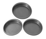 Mainstays 23cm Round Cake Pan, 3 Pack