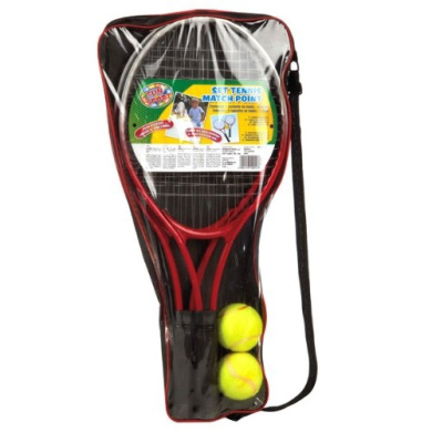 valuable games RDF50024 sport & fun September 2 tennis rackets with bag