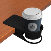 Drinking Cup Holder Clip - Home Car Office Table Desk Chair Edges Cup Holder for Water Drink Coffee Mug 7.6cm
