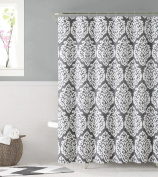 Ruthy's Textile 100% cotton shower curtain