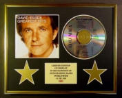 DAVID ESSEX/CD DISPLAY/ LIMITED EDITION/COA/GREATEST HITS