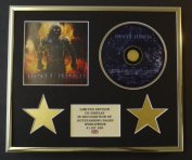 DISTURBED/CD DISPLAY/LIMITED EDITION/COA/INDESTRUCTIBLE