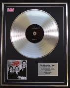 THE JAM/LTD EDITION CD PLATINUM DISC/BEAT SURRENDER