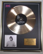 Brian McFadden Cd Gold Disc Record Limited Edition/Irish Son