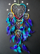 DREAMCATCHER RAINBOW HEART DREAM CATCHER