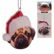 Christmas Pug Air Freshener