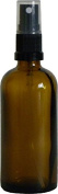 Ten 100ml Amber Glass Bottles with atomisers