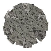 COM-FOUR ® Pan Protectors, Anti-Scratch for Pans, Grey, Decorative Pattern