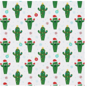 Fun Friendly Cactus ~ Gift Wrap ~ 1 ROLL