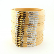 LOT 18cm Round Wooden Embroidery Hoops Bulk Wholesale 6 Pieces