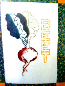 New Wickin Stitchin and More BEETS Candlewicking and Applique Embroidery Kit Patchwork and Crewel