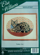 Elsa Williams Needlepoint Kit Tabby Cat 06300 By Alexa