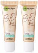 Garnier Skin BB Eye Miracle Skin Perfector Eye Roller, Light/Medium, 0.27 Fluid Ounce