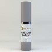 Nigel Anthony NUTRA PEPTIDE EYE SERUM with Hyaluronic Acid, Vitamin A, C & E - Eye Lift, Anti Wrinkle Serum for Dry, Sensitive, Maturing Skin. For Women & Men