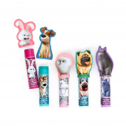 Secret Life of Pets Lip Balm with Finger Puppets, 5 Count