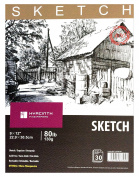 HYACINTH Sketch Book,23cm x 30cm , 80lb/130G, 30 Sheets