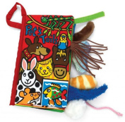 Rukiwa Animal Tails Cloth book Baby Toy Cloth Development Books Learning & Education books