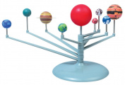 BleuMoo Nine planets Puzzle Assembling Solar System Planetarium Model Children's Science DIY Toy Set