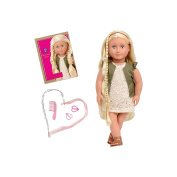 Our Generation 46cm Doll, Pia, Blonde Hair Styling w/Book and Accesories