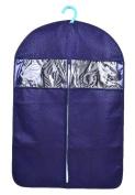 AliceHouse 3Pcs New Breathable Suits and Dresses Garment Bag Dustproof Cover Storage Bags FCZ42 Royal Blue 130cm