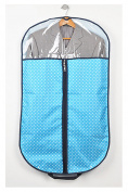 AliceHouse New Clear Breathable Suit/Dress Foldover Travel & Storage Garment Bag with Handles 110cm FCZ37