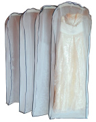 Beauty-Emily® Breathable Evening Dress Tulle Garment Cover Storage Dust Frosted