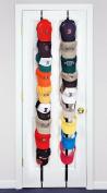 Baseball Cap Holder 18 Hat Rack Black Organiser Storage Perfect Curve Hanger