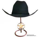American Made Cowboy Hat Stand with Cast Iron Lone Star CT