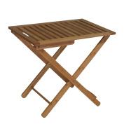 Proman Products LG17008 Bail Bali Bamboo Luggage Rack,