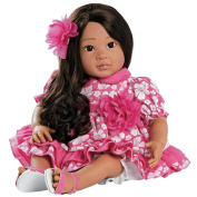 Paradise Galleries Realistic Doll, Hawaiian Hula Girl Doll Lei Aloha - 50cm GentleTouch Vinyl by Ping Lau