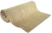36cm No-Fray Burlap Roll Table Runner, 36cm by 10 yards, Placemat, Craft Fabric