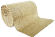 30cm No-Fray Burlap Roll Table Runner, 30cm by 50 yards, Placemat, Craft Fabric
