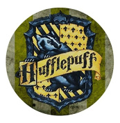 Harry Potter Hogwarts Hufflepuff Edible Image Photo Sugar Frosting Icing Cake Topper Sheet Birthday Party - 20cm Round - 15006