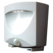 MAXSA INNOVATIONS 40341 Battery-Powered Motion-Activated Outdoor Night Light (White) Home, garden & living