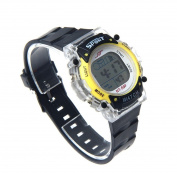 MandyColorful LED Electronic Sports Watch Yellow