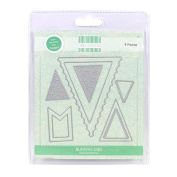 Trimcraft First Edition Universal Metal Paper Card Craft Dies - Bunting