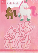 Marianne Design Collectables Horse & Unicorn Cutting Dies Set COL1408 Pony