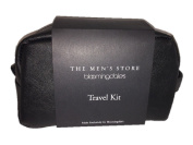 Bloomingdale's The Men's Store Genuine Leather Travel Kit in Black