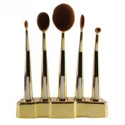 AutumnFall 5Pcs Makeup ToothBrush Cosmetic Foundation Powder Brushes