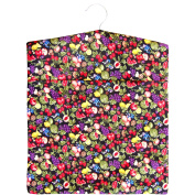 Fresh & Fruity Print Large Laundry Clothes Peg Bag with Wooden Hanger