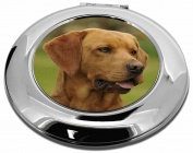 Fox Red Labrador Make-Up Round Compact Mirror Christmas Gift