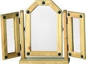 Mercers Furniture Corona Triple Mirror, Multi-Colour
