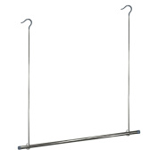 Rayen 2082 Hanging Rail for 100% Extra storage space in your wardrobe