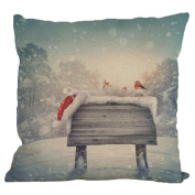 OverDose Home Decoration Christmas Pillow Case Cushion Cover