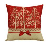 Christmas Pillow Case, Eenkula 2016 Party Lovely Vintage Christmas Pillow Vintage Christmas Sofa Bed Home Decoration Festival Pillow Case Cushion Cover 45cm *45cm